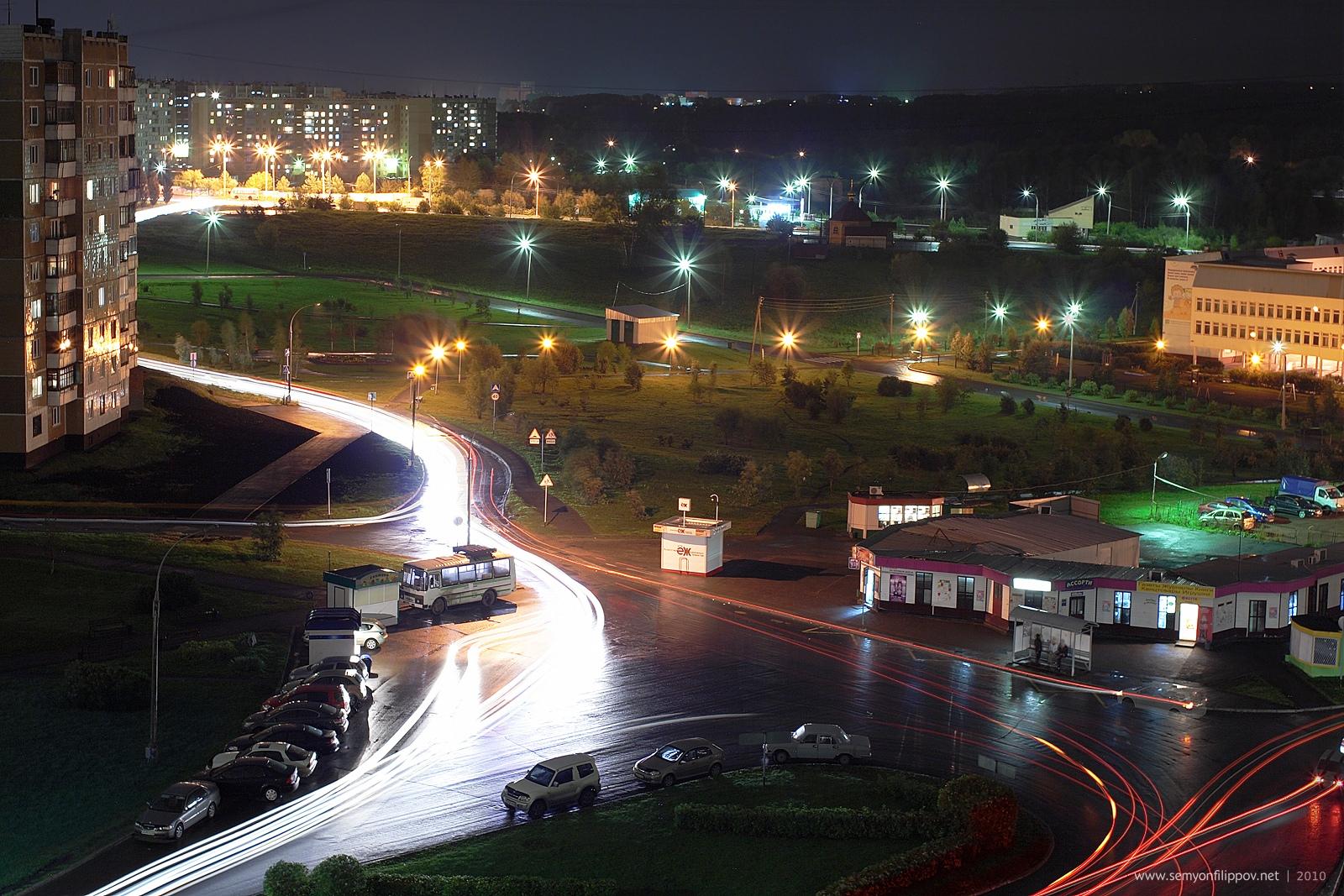 фото ночного кемерово стальной, швеллер